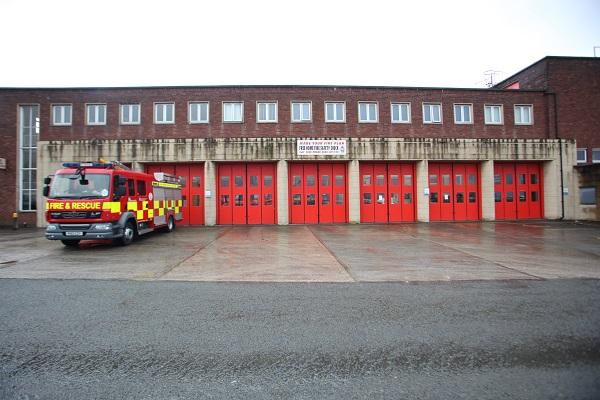 Preston fire station