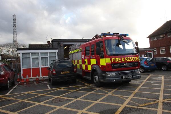 Fulwood fire station