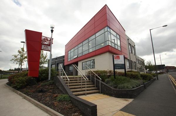 Blackburn fire station