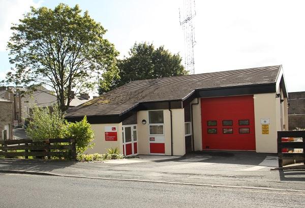Haslingden fire station