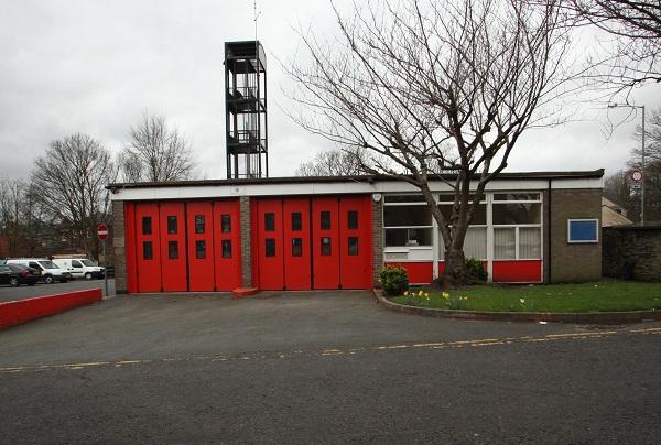 Padiham fire station