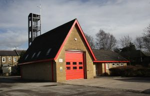Earby fire station