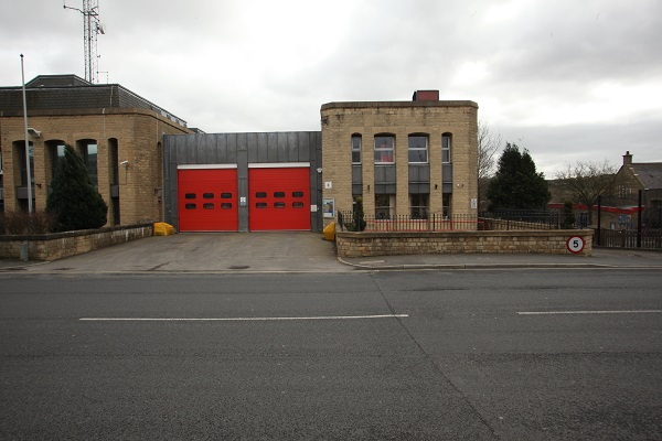 Colne fire station