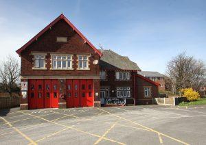Penwortham fire station