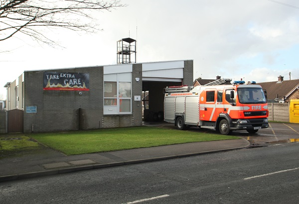 Tarleton fire station