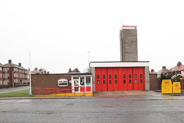 Bispham fire station