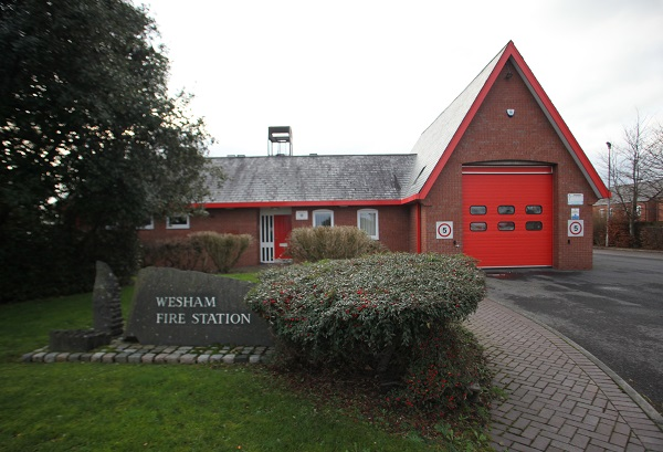 Wesham fire station