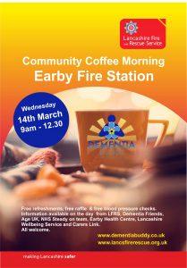 Earby Coffee Morning Dementia