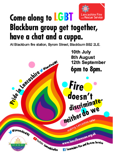 Poster for LGBT meetings