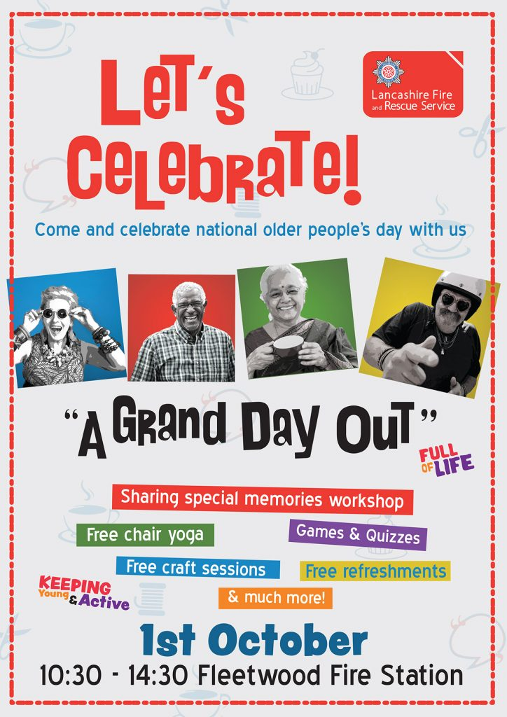 A Grand Day Out Older Persons Event Poster
