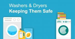 Dryers and washing machine safety image
