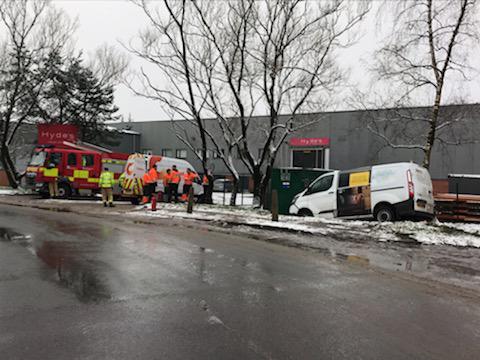 RTC incident 30-01-19 Chorley