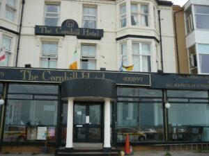 Cornhill Hotel, Blackpool Exterior