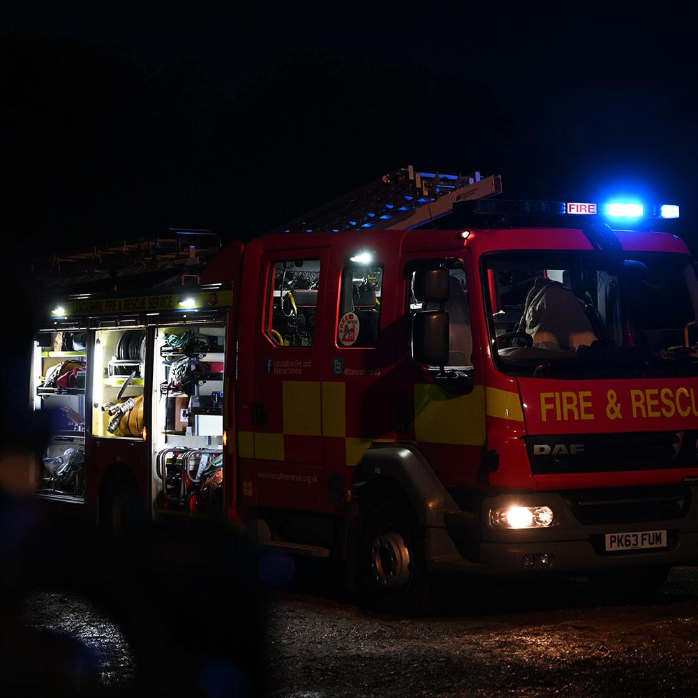 Fire Engine Bonfire Night