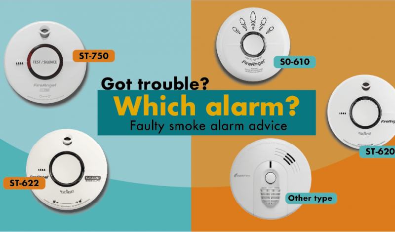 Got a faulty smoke alarm? Can you identify which one is yours? Click here for information and advice if you're having problems.