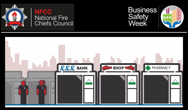 Fire services here to help during business safety week